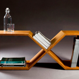 "nordarchitectdesign - plywood bench, side table ""rahletre"""