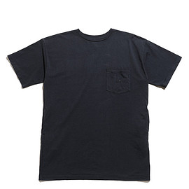 THE NORTH FACE PURPLE LABEL - 7oz H/S Pocket Long Tee-Charcoal