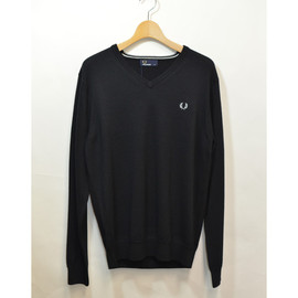 Fred Perry - Vネックセーター