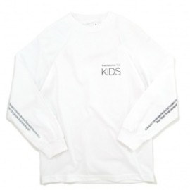 Goodblank - KIDS Long Sleeve Tee WHITE