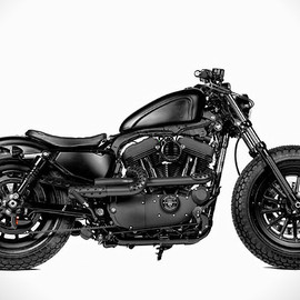 Harley-Davidson - Harley Forty Eight Custom Motorcycle By Rough Crafts