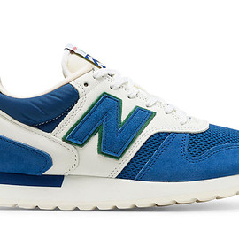 New Balance - 770 Made in UK Cumbrian Pack, Blue with White & Green