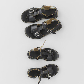 ARTS&SCIENCE - Two Buckles Sandals