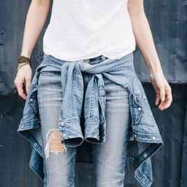 so simple/denim style