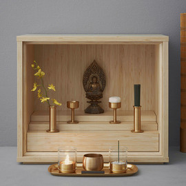 keita suzuki - shinobu buddhist altar for younger generations