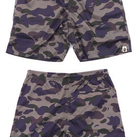 A BATHING APE - 1ST CAMO BEACH PANTS
