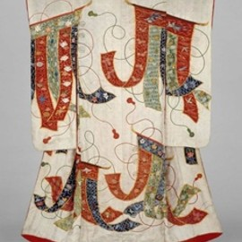 Wedding kimono (uchikake) from Edo period, 19th century, Japan