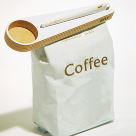 HILE - Kapu(Coffee scoop and bag closer)