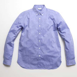 OH WELL - Cotton cashmere chambray/Blue