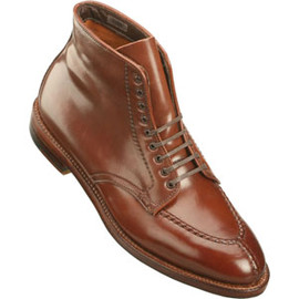 ALDEN - Men's Handsewn NST 9 Eyelet Dress Boot Shell Cordovan