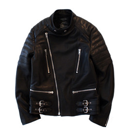 UNUSED - LEATHER RIDERS JACKET