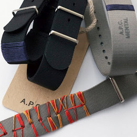 A.P.C. - CUSTUM NYLON BELT