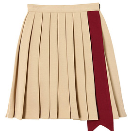 PAMEO POSE - SASH PLEATS SKIRT