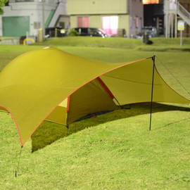 moss tent - cycloid