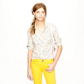 J.CREW - Liberty perfect shirt in assorted florals