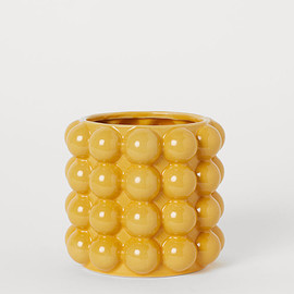 H&M HOME - Small bubbled plant pot