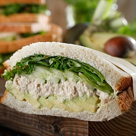 Starbucks - Avocado & Tuna Sandwiches