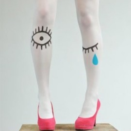 Luna & Curious x Les Queues de Sardines  - Polly Tights