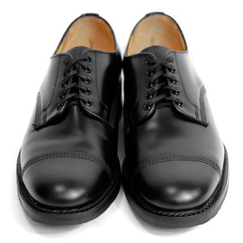 SANDERS - MILITARY DERBY SHOE [BLACK]