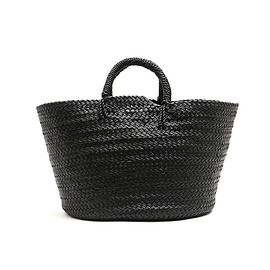 aeta - LEATHER BASKET M /KG02