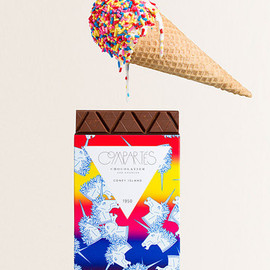 Compartes Chocolatier - Infinite Series Bar o3 // CONEY ISLAND // Waffle Cone