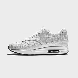 The Shoe Surgeon, NIKE - Air Max 1 - Lux White Python