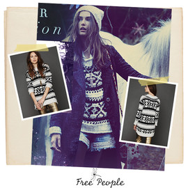 Free People - Silver Reed Pullover