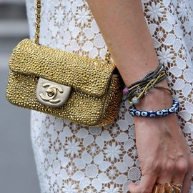 CHANEL - Mini bag.