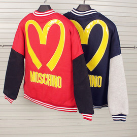 M logo baseball jacket