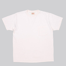 Goodwear - S/S Crew Neck Pocket Tee Custom-Natural
