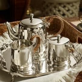 RALPH LAUREN - Darian 3-Piece Tea Set - Ralph Lauren Home Serving Pieces - RalphLauren.com