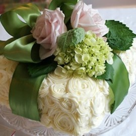 flower decoration cake