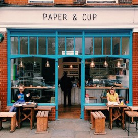 Shoreditch, London - Paper & Cup Coffeeshop
