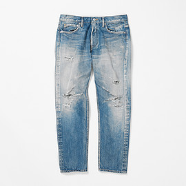 URBAN RESEARCH iD - Crushed Denim