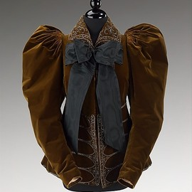 Afternoon Jacket, House of Worth 1895, French, Made of silk