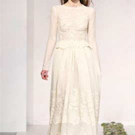 Luisa Beccaria 2009 s/s dress