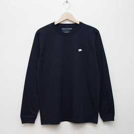 cup and cone - Embroidered L/S - Navy