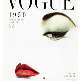 Erwin Blumenfeld - Vogue Cover - January 1950 Premium Giclee Print