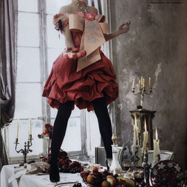 Christian Lacroix - Emma Watson in Italian Vogue