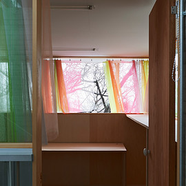 森山茜 - curtain for a child room in Ishikiri
