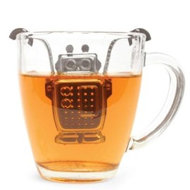 Kikkerland - Robot Tea Infuser and Drip Tray