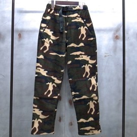 WILD THINGS - CAMO FLEECE CLIMBING PANT