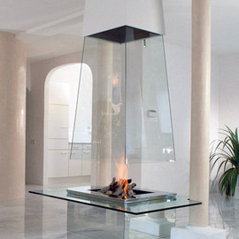 Bloch-Design - Glass Fireplace