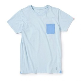 BEDWIN - C-NECK POCKET T