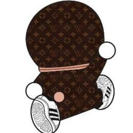 WRONGWROKS - Dora-gram Louis Vuitton