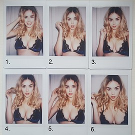 Danielle Sharp - Calendar Cover Out-takes :)