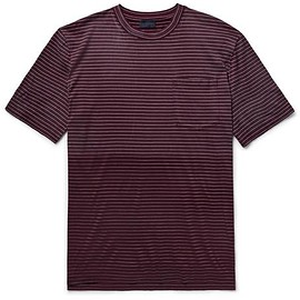 Lanvin - Dégradé Striped Cotton-Jersey T-shirt