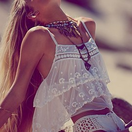 Free People - Femme Fatale Crop Top