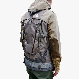 JUNYA WATANABE COMME des GARCONS MAN, THE NORTH FACE - Anorak Parka Backpack - Grey/Brown/Olive?