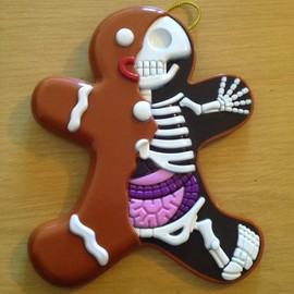 Jason Freeny - Dissected Gingerbread Man